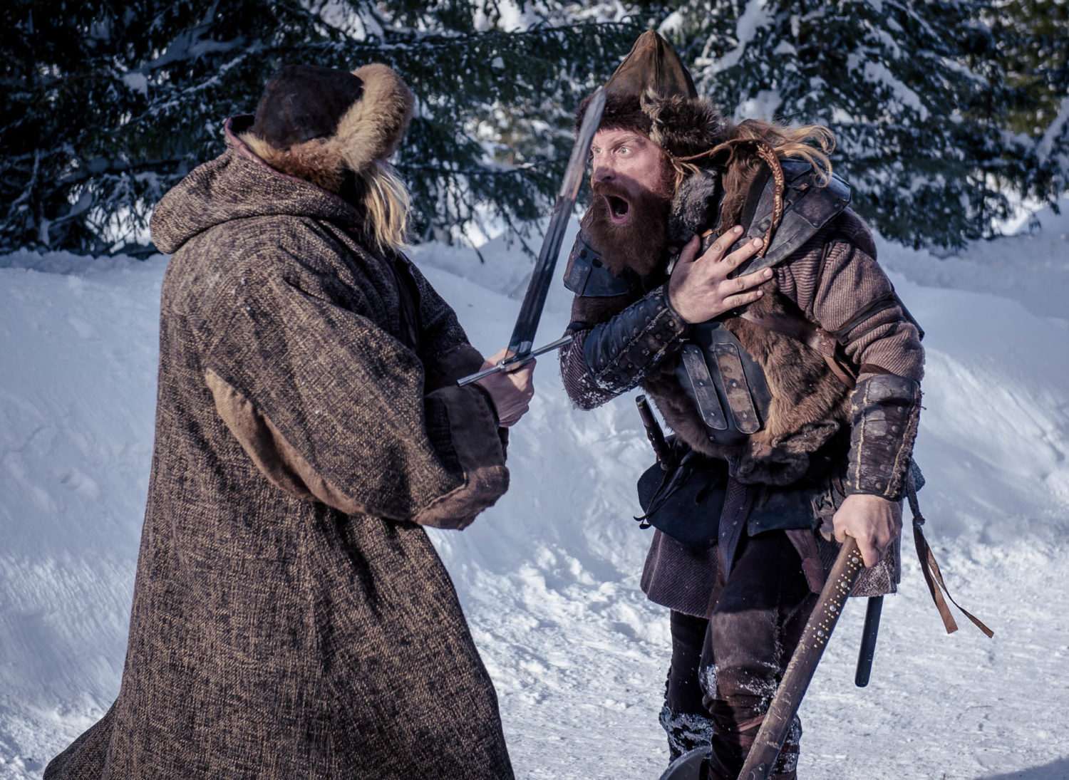 Arda, Birkebeinerne, Film Set, Film Still, Lillehammer, Norway, On Set, Production Still, The Last King, The World